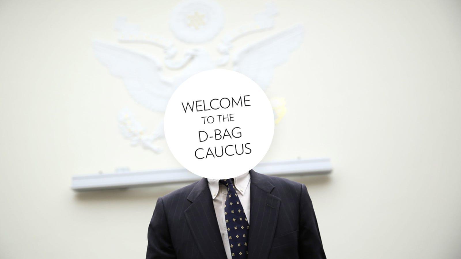 Meet the Men of Congress's Powerful Douchebag Caucus