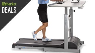 Illustration for article titled Discounted Treadmill Desks, Attractive Laptop Stand, and More Deals