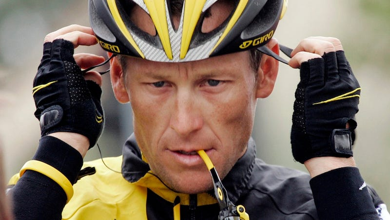 "Illustration for article titled An All-Time Great ""Lance Armstrong Being A Dick"" Story"