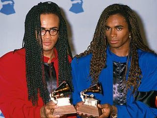 Illustration for article titled 20 Years Ago Today, Milli Vanilli Lost Their Grammy For Lip Syncing Someone Else's Songs