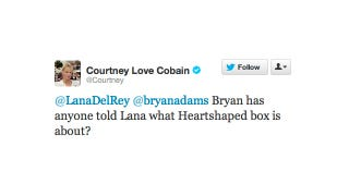 Illustration for article titled Lana Del Rey Is Singing About Courtney Love's Vagina, Says Courtney Love