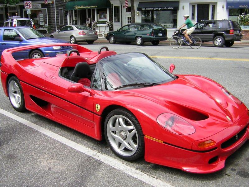 Illustration for article titled Ferrari F50 is best Ferrari