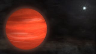 Illustration for article titled Astronomers discover a planet so massive it defies classification