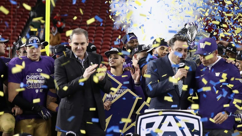 Illustration for article titled The Pac-12 Championship Ended With A Justified Shower Of Boos
