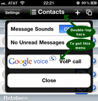 Talkatone Makes Free Google Voice/Gmail VoIP Calls on Your iPhone