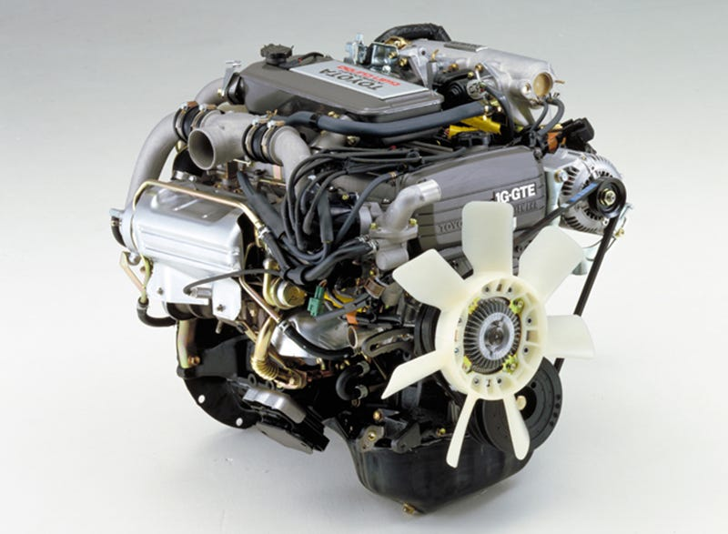 Toyota's First Twin Turbo Straight Six Is Stranger Than You