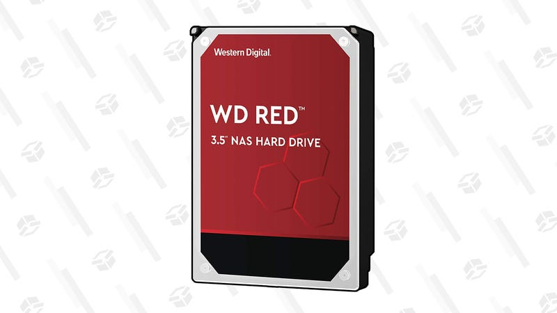 WD Red 8TB NAS Internal Hard Drive | $185 | Amazon