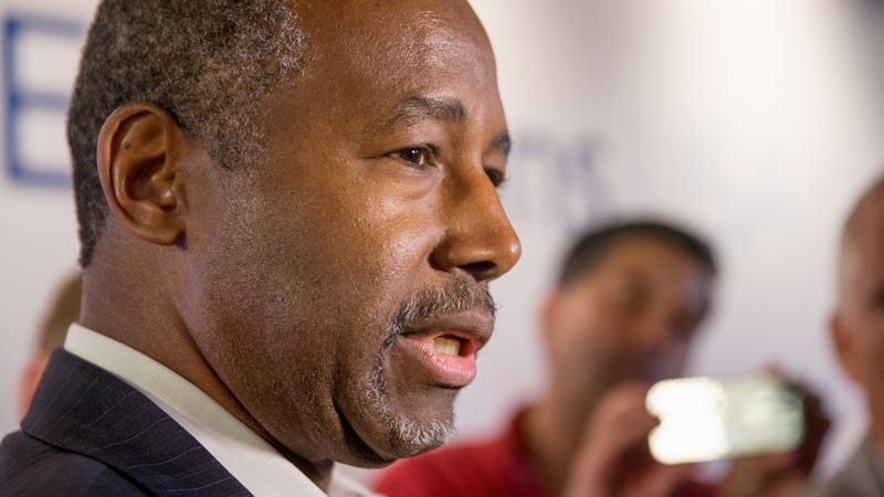 Then-presidential candidate and current Housing and Urban Development Secretary Ben Carson in 2016.