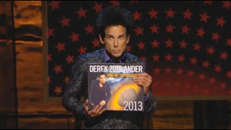 Illustration for article titled Derek Zoolander Returns To Tell You About The End Of The World