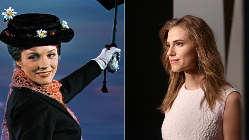 Illustration for article titled Is Allison Williams Gunning to Play Mary Poppins?