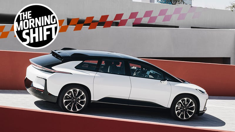 Illustration for article titled Faraday Future Gets $225 Million to Give It Yet Another Go