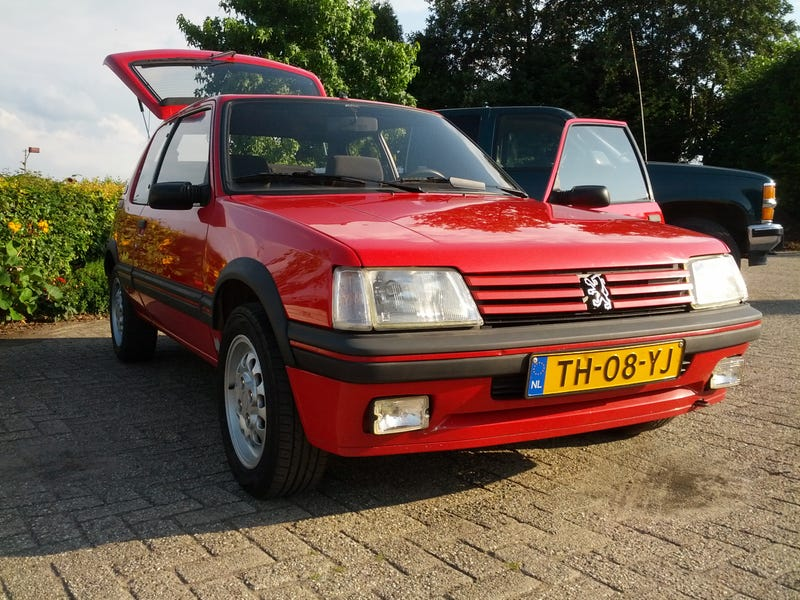 The Peugeot 205 GTI  Jalopnik Fantasy Garage