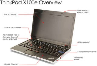 Illustration for article titled Super Cheap, Super Small Lenovo X100E Leaks