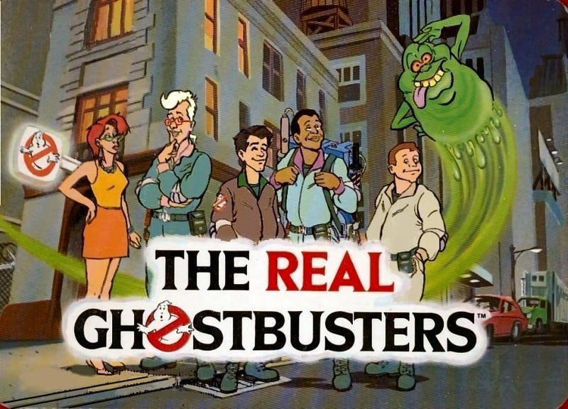 Illustration for article titled Ghostbuster 2016- Why it's Really The Real Ghostbusters 2016.