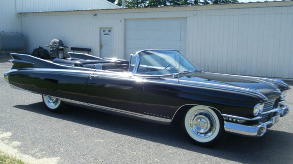 1959 Cadillac Eldorado Biarritz Convertible Is One Rare Drop Top