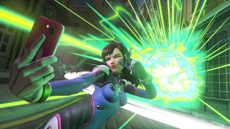 Illustration for article titled D.Va Makes Life Difficult For Overwatch's Developers