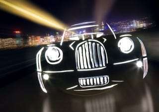 Illustration for article titled Light Graffiti: Cool Camera Trick Makes Cool Cars Look More Cool