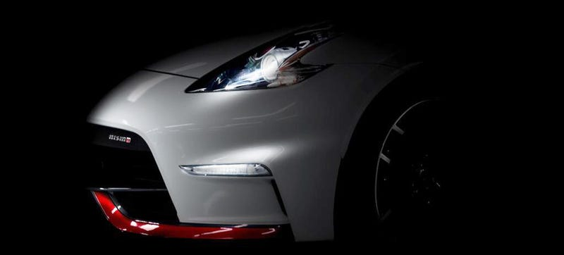 Illustration for article titled This Mysterious Nismo 370Z Will Be Unveiled Tomorrow