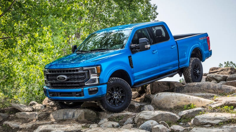 Illustration for article titled The 2020 Ford Super Duty Tremor Is an Off-Roader with a Very Large 7.3-Liter V8