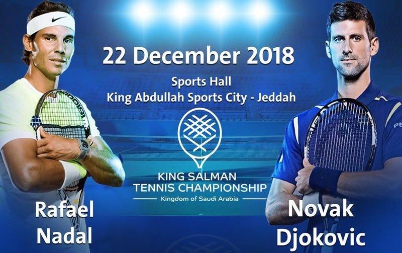 Illustration for article titled Novak Djokovic Says His Saudi Arabia Exhibition Match Against Rafael Nadal Is Off