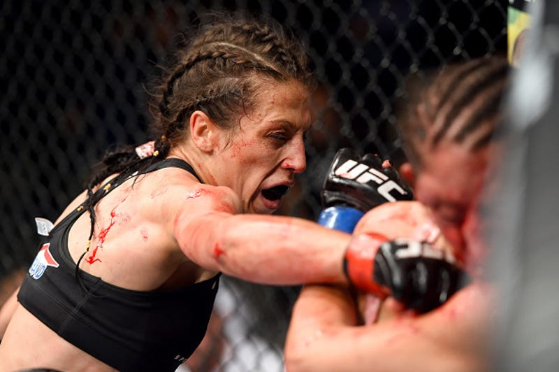 Illustration for article titled The Most Exciting Women's UFC Fight This Weekend Doesn't Involve Ronda Rousey