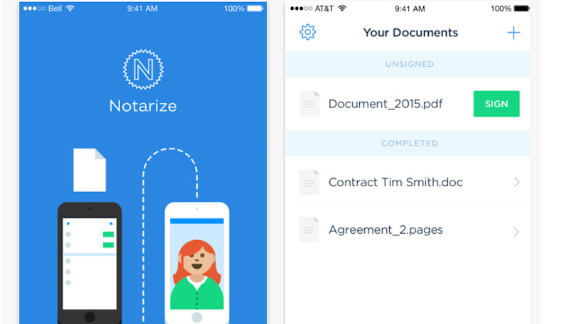 Illustration for article titled Notarize Lets You Legally Notarize a Document Straight From Your Phone