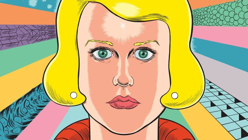 Illustration for article titled Daniel Clowes' Patience transcends space and time to explore obsession and love