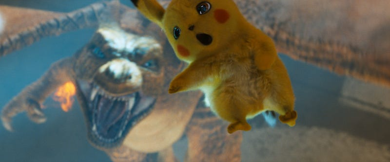 "Illustration for article titled Ryan Reynolds, celebrity troll, has ""leaked"" Detective Pikachu on YouTube"