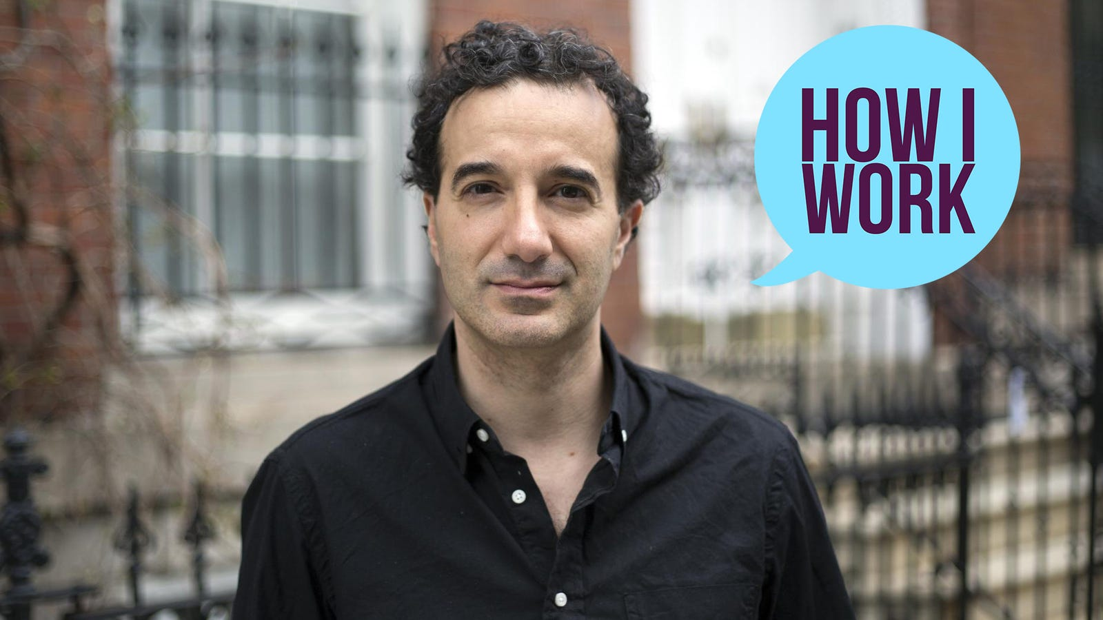 I'm Jad Abumrad, Founder And Co-Host Of Radiolab, And This Is How I Work