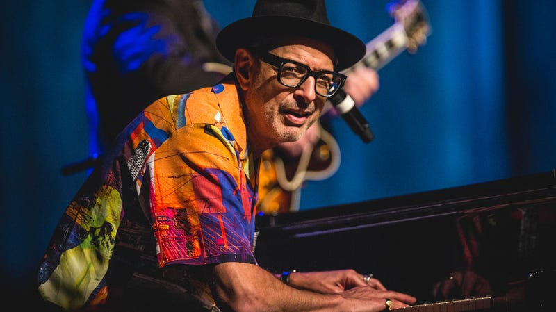 Jeff Goldblum has a No. 1 jazz album, which is probably a real joy for non-Goldblum jazz musicians