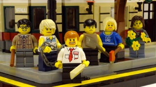 Illustration for article titled Shaun of the Dead Lego set recreates the Winchester