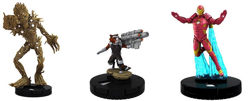 Illustration for article titled Guardians Of The Galaxy Heroclix