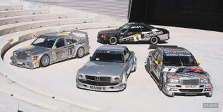 Illustration for article titled Mercedes DTM... I mean Damnnnn