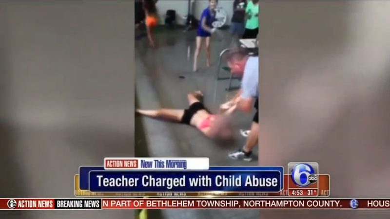 Gym teacher charged after attempting to force a student