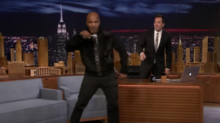 Mike Tyson on The Tonight Show With Jimmy FallonYouTube Screenshot