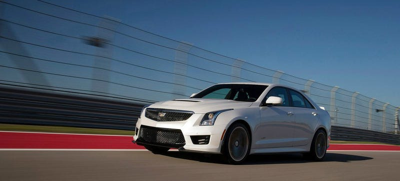 Illustration for article titled Cadillac ATS-V Smacks Down The BMW M3 With This Awesome Lease Deal