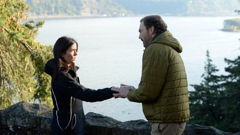 Bitsie Tulloch, Silas Weir Mitchell (Image: NBC)