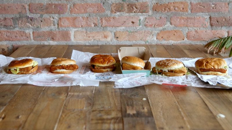 War on the high seas the search for the best fast food for Fast food fish sandwich