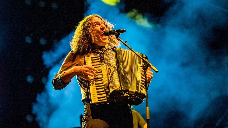 """Weird Al"" Yankovic, who was definitely not the first person we ever saw in concert, identity thieves. (Photo: Timothy Norris/Getty Images)"
