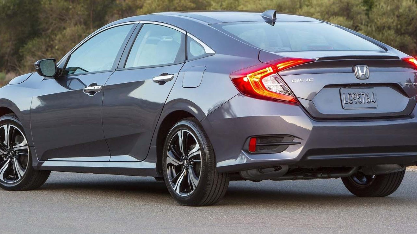 that was fast 2016 honda civic hit with recall and stop