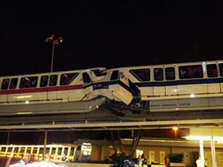 Illustration for article titled Two Disney World Monorails Collide, Driver Killed