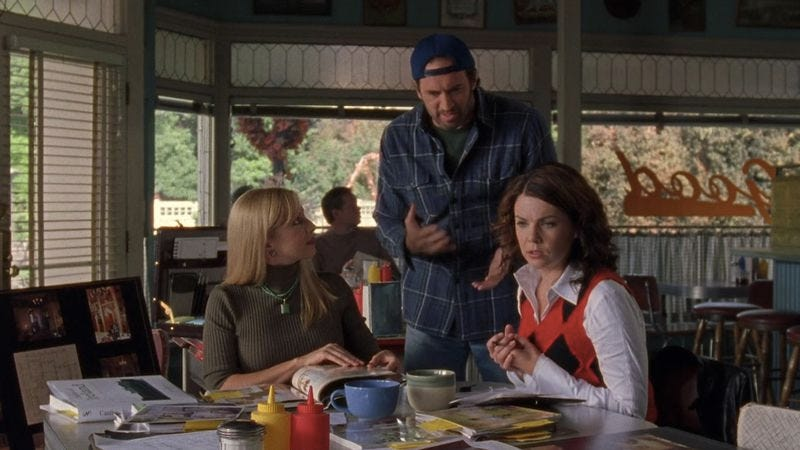 Screenshot: Gilmore Girls