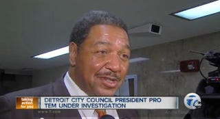 Detroit Councilman George CushingberryABC 7 screenshot