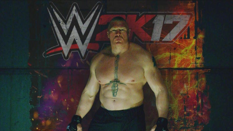 Illustration for article titled The WWE 2K Commercials Are Loaded With Easter Eggs