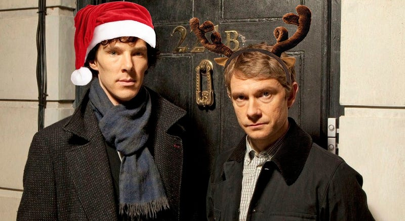 Illustration for article titled Nothing says Christmas like a Sherlock minisode
