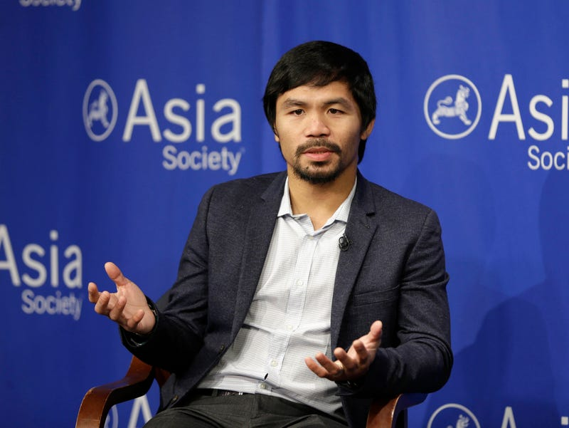 Illustration for article titled Manny Pacquiao Is Sorry For Saying Gay People Are Worse Than Animals, Is Still A Shitbag