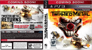 Illustration for article titled Twisted Metal Creator Reveals the Tentative Cover Art, and has a Special Message for Racists