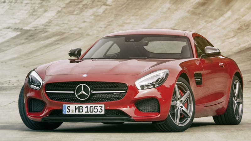 Illustration for article titled The Meh-rcedes AMG GT is meh