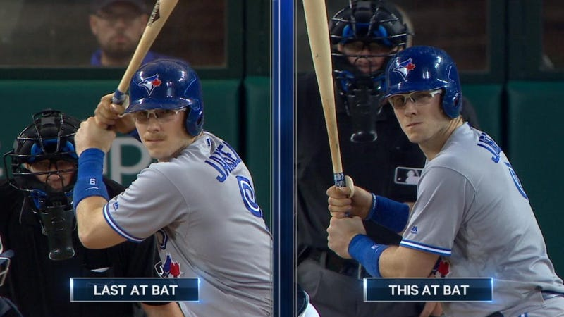Illustration for article titled Blue Jays' Danny Jansen Sacrificed His Mustache Mid-Game For An RBI Single