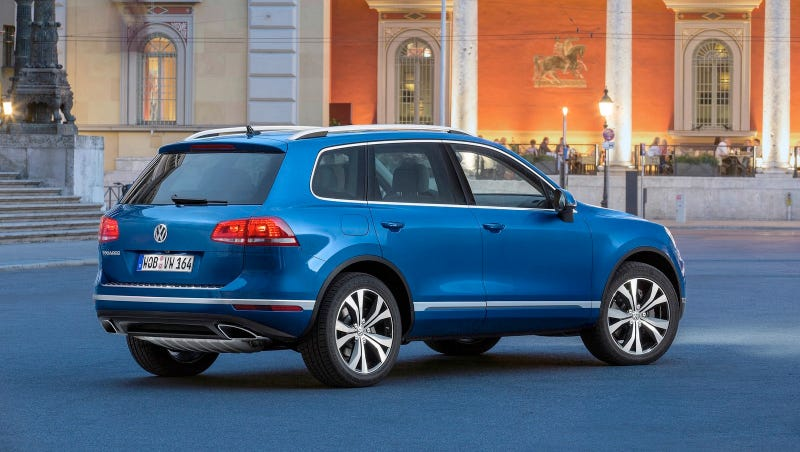 Illustration for article titled Dead: Volkswagen Touareg